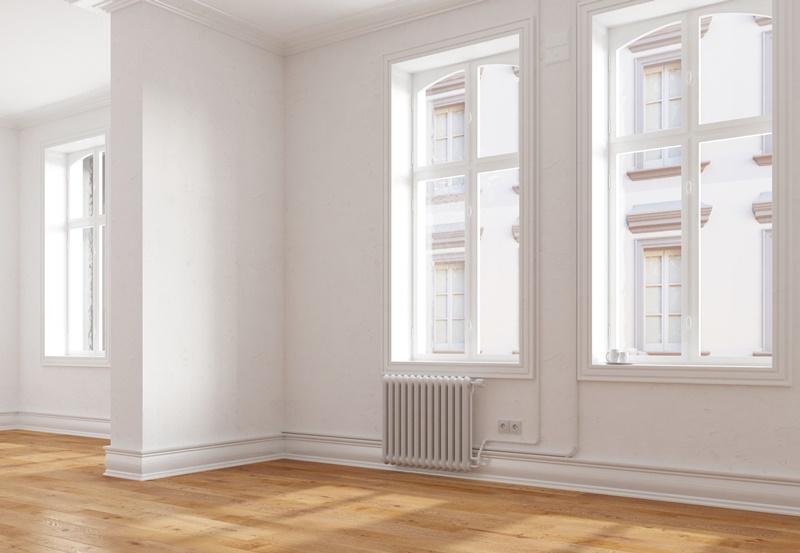 Wohnungsbau mit Vinylboden