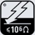 Elektrische Ableitung ist größer als 10 Omega